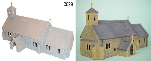dapol-model-railway-village-church-plastic-kit-oo-scale-1-76