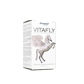 VitaFly 60 Tabs - extremes Potenzmittel Markenprodukt vom Experten für mehr Vitalität und Performance der Libido