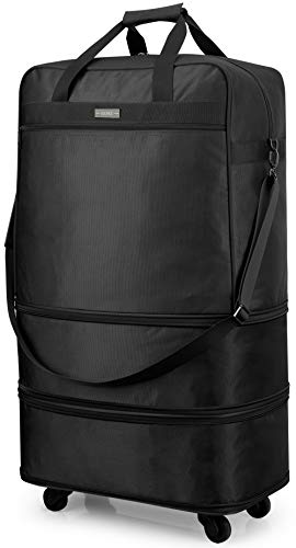 Hanke Expandable Luggage for Men...