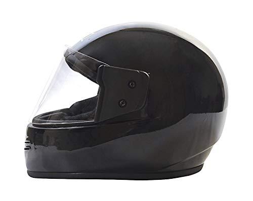 JMD HELMETS Plain Helmet (Black)