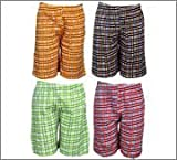 Spictex Boys' Cotton Shorts (Pack Of 4) ...