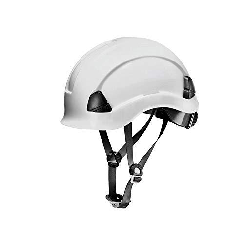WY-Hard hat Casco de construcción Casco de Trabajo de Seguridad ventilado con la Correa Textil