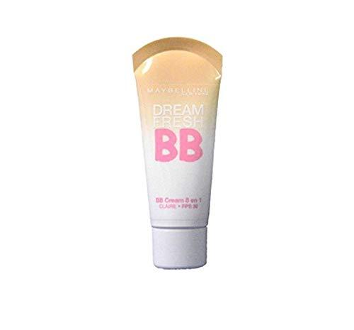 2 x Maybelline Neu York Dream Fresh BB Cream 8in1 SPF30 - Claire (Light Skin)