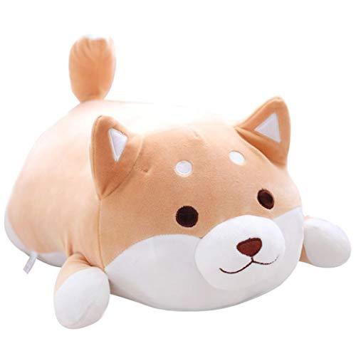 Deloito Plüsch angefülltes Weiches Kissen Cartoon Hundepuppe Niedliches Shiba Inu Kissen Sofa Home Bed Dekor Wurfkissen (B,55×30cm) Paisley Vintage Mantel