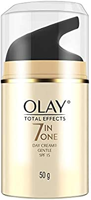 Olay Day Cream Total Effects 7 in 1, Anti-Ageing Gentle Moisturiser, 50g