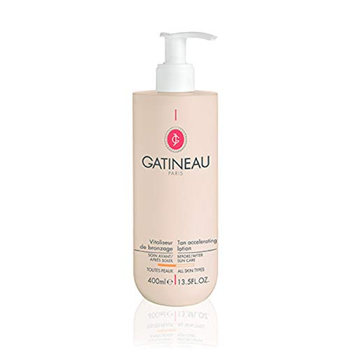 'Gatineau' Tan Accelerating Lotion 400ml, Has a unique triple action that helps to prepare, boost and prolong tanning. - Gatineau Körperpflege