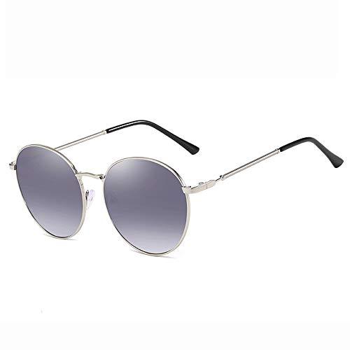 Polarisierte Sport Aviator Sonnenbrillen für Männer oder Frauen 100% UVA/UVB Objektiv Sonnenbrillen Brille (Farbe : Grau, Größe : Casual Size)