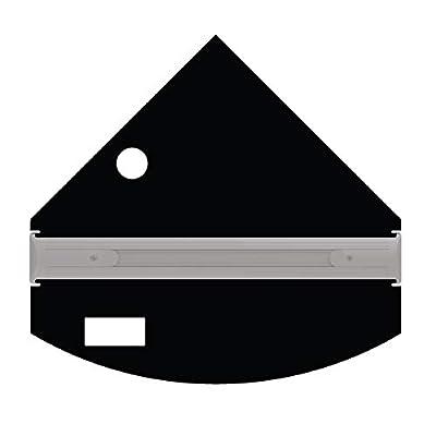 iQuatics Kit de Remplacement Universel Compatible Juwel Trigon 190 avec Trous pour écumeur/mangeoire
