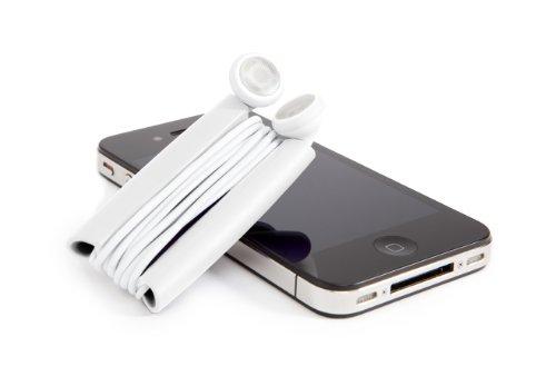 Quirky Wrapster PWRP3-WH01 Kabelmanagement-Lösung für Kopfhörer Apple Iphone 3g Headset
