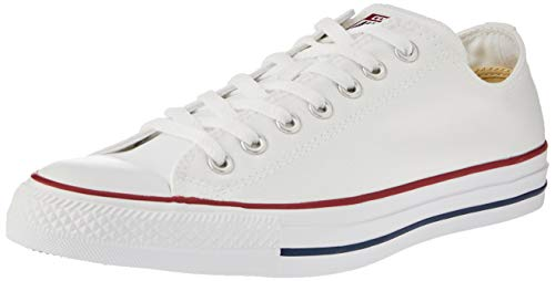 9d1d26b820 Converse Chuck Taylor All Star Season Ox, Zapatillas de Tela Unisex Adulto,  Blanco,