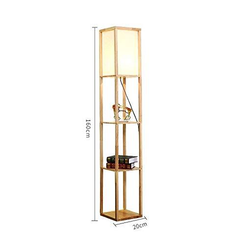 A+ sun Stehlampe Moderne minimalistische Persönlichkeit Hölzerne Ecke Vertikale Stehlampe...