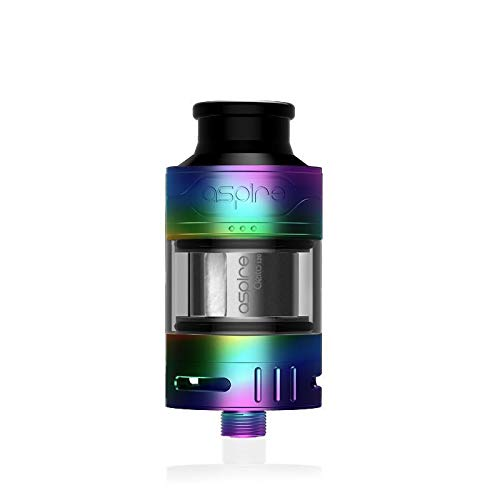 Aspire Cleito 120 Pro Tank 2ml Sub-Ohm Clearomizer Atomizer (Rainbow) No nicotine or tobacco
