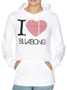 Damen Kapuzenpullover Billabong I Love Hoodie Women
