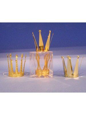 Müller Metallkrone gold ca. 10 cm, sortiert