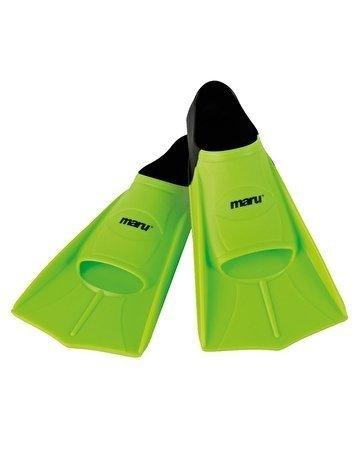 Maru Training Fins (Neon Green/Black) 43-44
