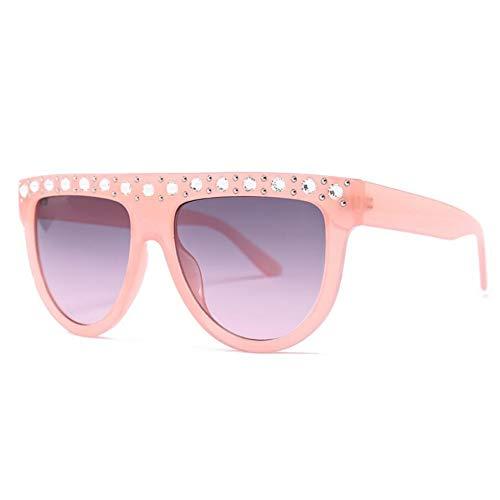 LIUYAWEI Mode Marke Übergroßen Sonnenbrille Quadrat Womens Shades Designer Großen Rahmen Flache Top Sonnenbrille 2019 Retro Vintage Brille