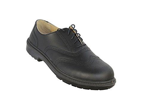 Chaussures de sécurité basse cuir JALARTHUR SAS S1P SRC Noir