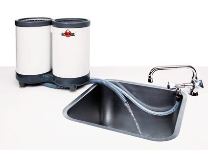 SPÜLBOY® Twin-Go T Portable - Gläserspüler, Gläserspülgerät