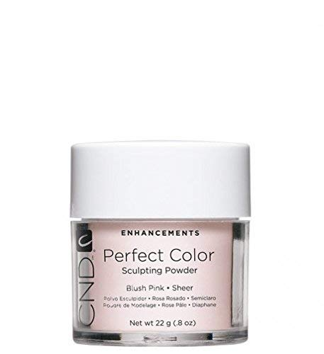 CND Perfect colore acrilico in polvere, 22g, blush rosa velato