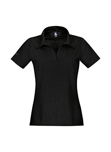 Trigema Polo Femme Noir - Noir