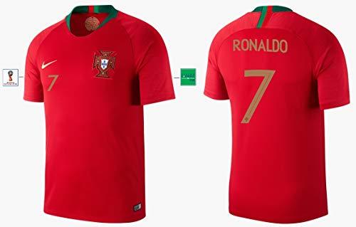 Portugal Trikot Herren WM 2018 Home - Ronaldo 7 (L)