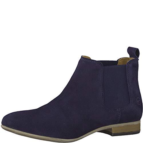 Tamaris Damen 1-1-25344-32 Chelsea Boots, Blau (Navy 805), 39 EU