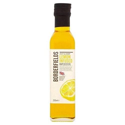 Borderfields Kalt Gepresstes Rapsöl Zitronen Infusion 250Ml (Packung mit 6) (Kalte Infusion Kaffee)