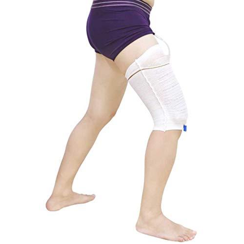 Hcwlxjy Urin-Beinbeutel-Halterung, 2 Stück Drainagebeutel, Beutel, Bein-Manschette, sichere Gesundheitspflege, Harninkontinenz-Zubehör X-Large -