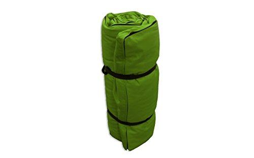 Tragbare Futon Grüne, 200x140x4 cm