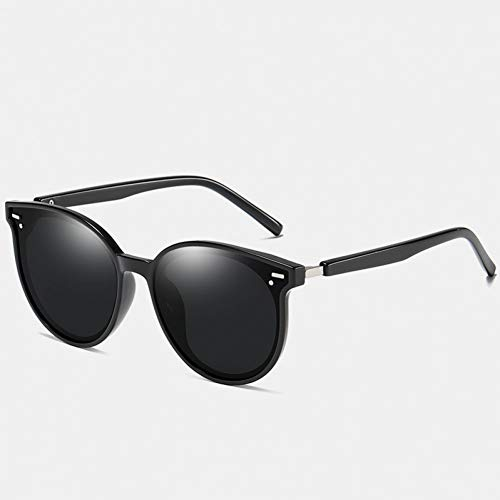 SYQA Sonnenbrille Sonnenbrille Frauen Männer Luxusmarke Übergröße Sonnenbrille Schwarz Uv400 Polarized Shades,C2
