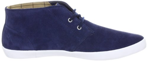 Fred Perry Byron Mid Suede Carbon Blue Blau
