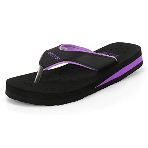 Doctor Extra Soft Slippers For Women - Purple