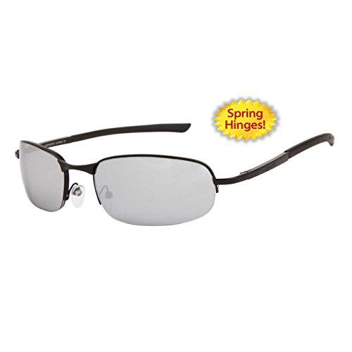 lunettes de soleil sport cyclisme vélo vtt homme femme mixte XS563 (monture gun metal verres gris , largeur:140mm hauteur:37mm)