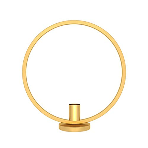Longsw Nordischen Stil 3D Kreis Geometrische Metallwand Kerzenhalter Teelicht Kerzenleuchter Wandleuchte Handwerk Hochzeit Wohnkultur