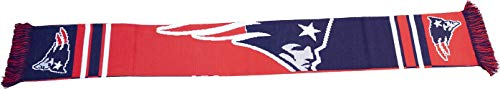 Forever Collectibles Offizieller New England Patriots NFL Schal, Scarf Klassik