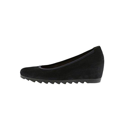 Gabor Shoes Basic, Ballerine Donna Navy Suede