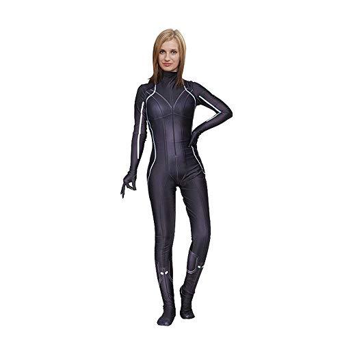Witwe Bilder Schwarze Kostüm - Kostüm Verkleidung, Avengers Schwarze Witwe Cosplay Siamy Tights Cosplay Kostüm Child- XXL