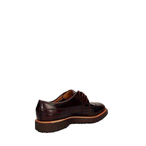 Clarks Modur Limit Francesina Uomo Burgundy Leather