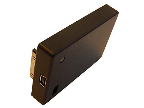 vhbw Li-Polymer (3.8V) Zusatz Akku 1240mah für Videokamera Camcorder GoPro Hero 3+, 4 Black, 4 Music Edition wie 3661-093, ABPAK-404.