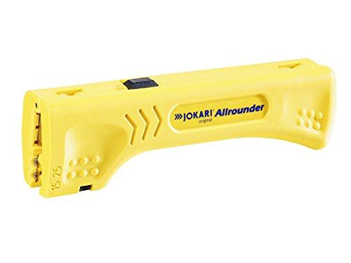 Jokari Allrounder 30900 - Abisolierer zum Entmanteln von Flach- und Rundkabel