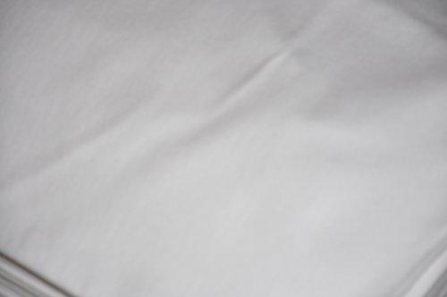 Stoff-ConneXion Bühnenmolton, weiß 300 cm breit, GP 13,40 €/m Länge wählbar bis 60 m, Preis lfd./m