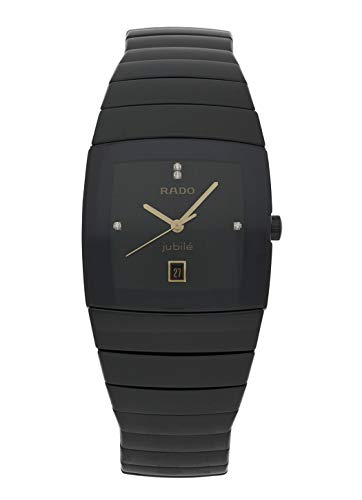 Rado Damen-Armbanduhr 30mm Armband Keramik Schwarz + Gehäuse Quarz R13725712