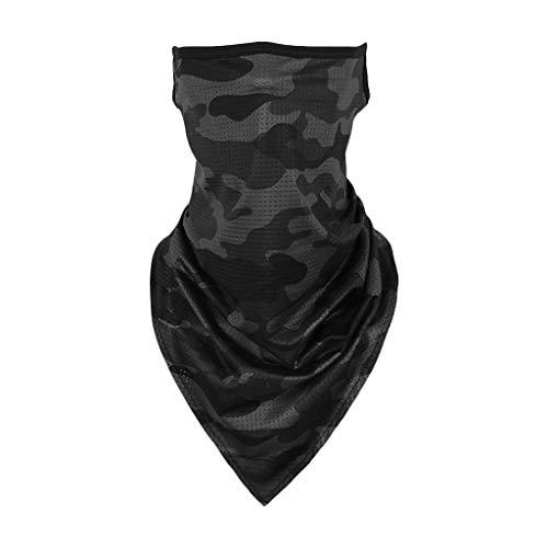 carol -1 Winddichte Gesichtsmaske für Erwachsene, Multifunktionaler Schlauchschal, Outdoor-Stirnbänder, Kopftuch, Gedruckt Haarband Für Männer Frauen, Headwrap Motorrad Sturmhaube Sport-Halstuch