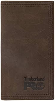 Timberland PRO Men's Leather Long Bifold Rodeo Wallet with
