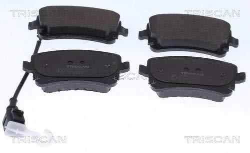 TRISCAN 8110 10985 - Kit pastiglie freno a disco