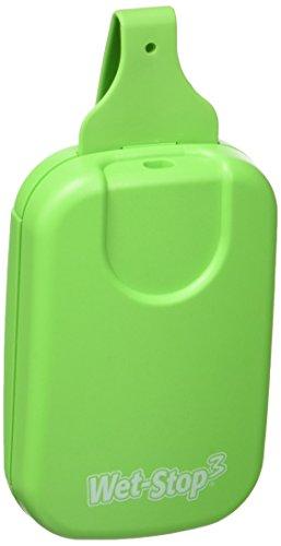 Wet Stop W103 - Sistema completo enuresis, alarma por vibración y/o sonido, color verde