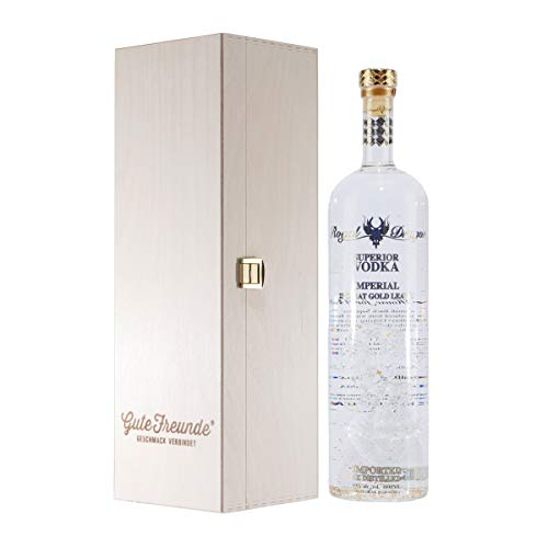 Royal Dragon Superior Vodka Imperial mit Geschenk-Holzkiste (Imperial Dragon)