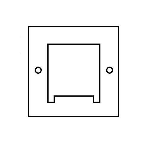 Schaum Kühler (40x 40mm 4mm Schaumstoff Isolierung Dichtung tec-12706Peltier Kühler)