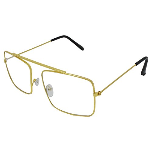 Criba Raees Style Golden Frame Sunglass and Spectacle Frame