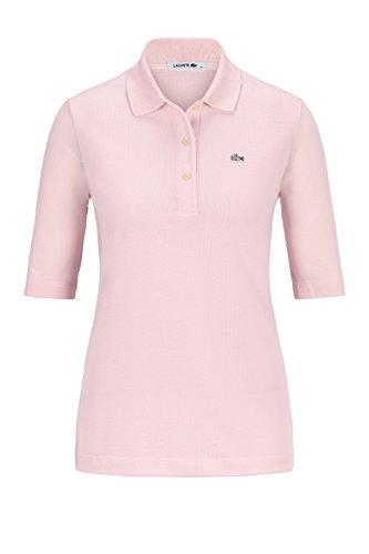 Lacoste Damen Poloshirt Halbarm Rose (70) 42